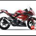 Decal Kawasaki Ninja 250 FI Merah Hayabusa Red