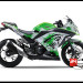 Jual Sticker Printing NINJA 250Fi Hijau Splash Ink Green