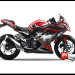 Murah Sticker Ninja 250 FI Merah Batman V1 Red