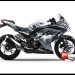 Murah Sticker Ninja 250 FI Putih Batman V1 White
