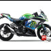 Sticker Decal Modifikasi Ninja 250 FI Hijau Monster Snow