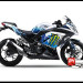 Sticker Decal Modifikasi Ninja 250 FI Putih Monster Snow