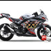 Sticker Decal Ninja 250 Injeksi Putih Moto xXx Green