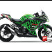 Sticker Digital Ninja 250 Fi Hijau icon Sevcon