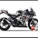 Sticker Digital Ninja 250 Fi Hitam icon Sevcon