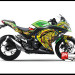 Sticker Digital Ninja 250 Injek Hijau THE DOCTOR SUN MOON