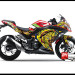Sticker Digital Ninja 250 Injek Merah THE DOCTOR SUN MOON