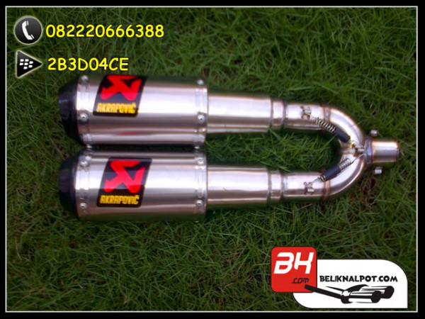 Akrapovic Lorenzo 2012 Double