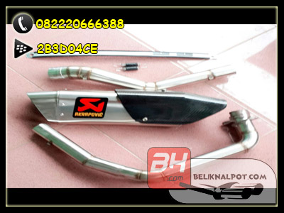knalpot akrapovic new tameng full