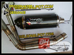 jual knalpot two brother new er6