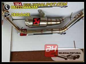 knalpot akra GP all motor 150cc