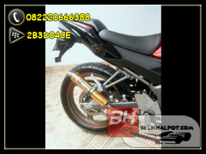 knalpot akrapovic gold full rr