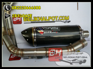 knalpot two brother new er6
