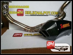 Knalpot Racing Ninja 250 FI - Karbu Akrapovic Monster