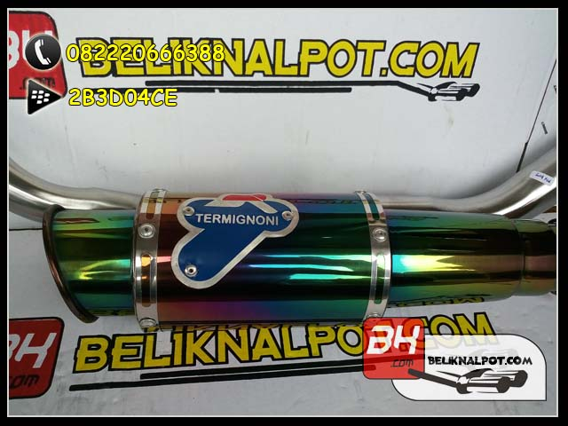 Knalpot Racing MX King Termignoni Pelangi