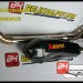 Knalpot Racing R15 Akrapovic Monster Leher Stainless las cacing