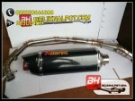 Knalpot Racing Sonic Akrapovic Carbon