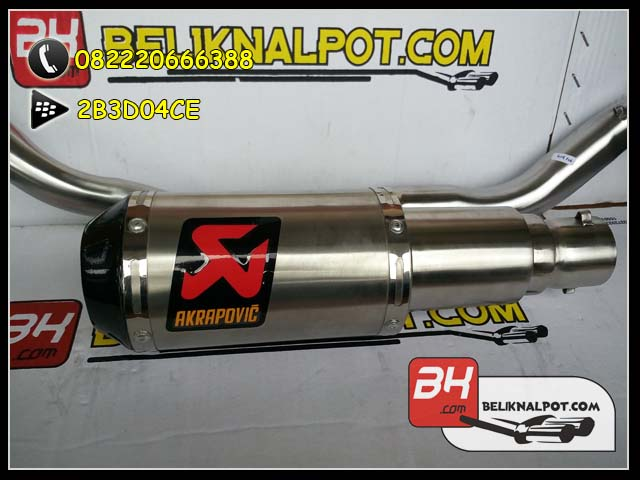 Jual Knalpot Racing MX King Akrapovic Lorenzo GP Titan