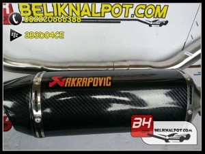 Knalpot Racing MX King Akrapovic Carbon