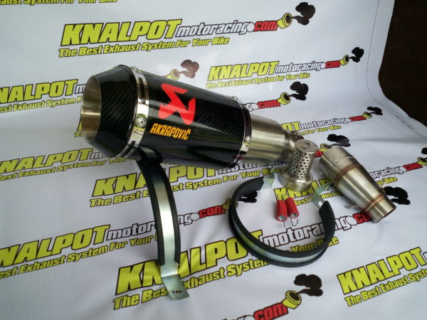 Knalpot Racing Akrapovic GP Lorenzo carbon